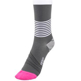 FOR.BICY Ring Master Socks Damen grey/white/pink